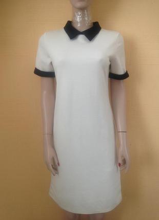Скидка#белое платье#офисное платье#прямое платье#летнее платье#платье делового стиля#