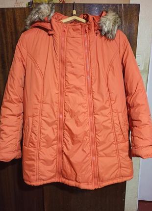 Зимняя куртка для беременных вагітних