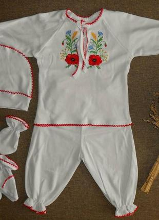 Комплект вышиваний для новорожденной