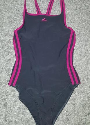 Оригинал.фирменный,слитный,спортивный,качественный,сдельный купальник adidas infinitex