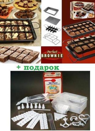 Форма для выпечки кексов с антипригарной покрытием