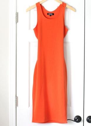 Облегающее платье missguided с красивой спинкой