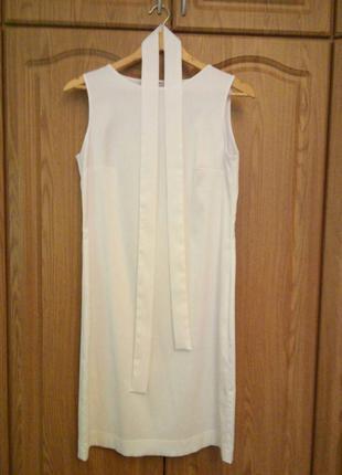 Молочное платье natali bolgar