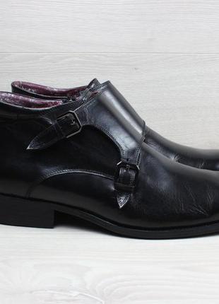 Мужские кожаные ботинки / полуботинки paolo vandini, размер 43