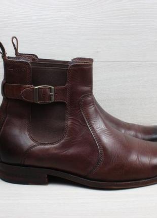 Мужские кожаные ботинки / челси clarks оригинал, размер 41 - 41.5