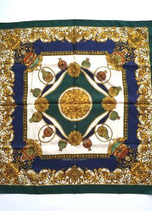 Винтажный шарф платок pierre balmain винтаж франция