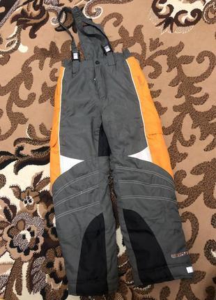 Горно лыжные штаны 7-8л