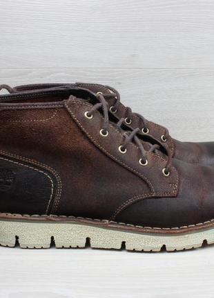 Мужские кожаные ботинки timberland оригинал, размер 45