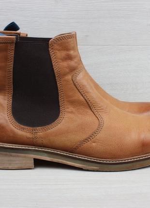 Мужские кожаные ботинки челси white stuff, размер 45 (chelsea boots)