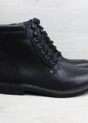 Мужские кожаные ботинки clarks оригинал, размер 45 - 45.5
