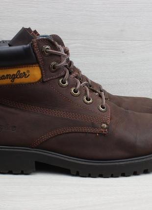Мужские кожаные ботинки wrangler, размер 42