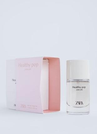 Туалетная вода для женщин zara healthy pop join life edt 30 ml
