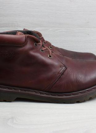 Мужские кожаные ботинки dr. martens england оригинал, размер 46 (полуботинки)