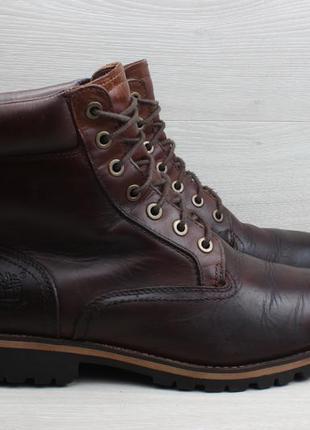 Мужские кожаные ботинки timberland оригинал, размер 42