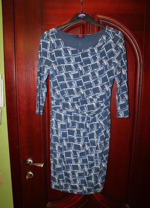 Трикотажное платье размер s, m от buffalo