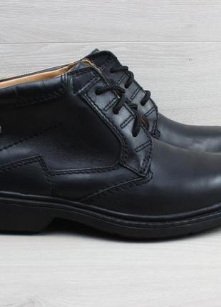 Кожаные мужские ботинки clarks gore-tex оригинал, размер 41