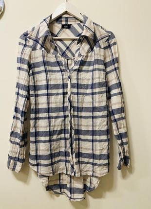 Рубашка f&f p.10/38 #1556 sale❗️❗️❗️black friday❗️❗️❗️