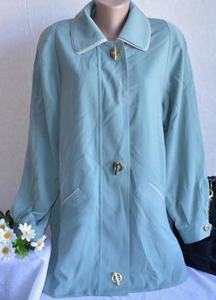 Брендовая демисезонная легкая куртка на молнии с карманами david barry