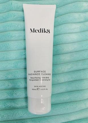 Medik8 surface radiance  гель для умывания с гидроксикислотами 150 ml