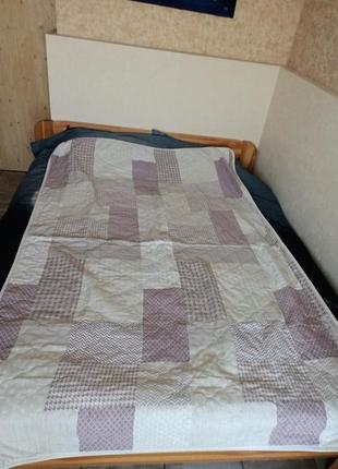 Стёганое покрывало одеяло плед viluta 200/140 см