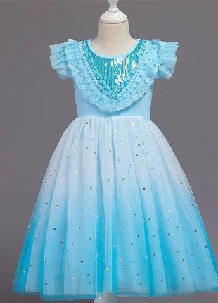 Красивое платье elsa (эльза) для вашей принцессы