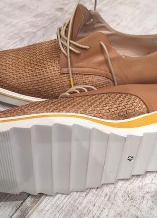 Оригинальные слипоны, туфли от kess. испания