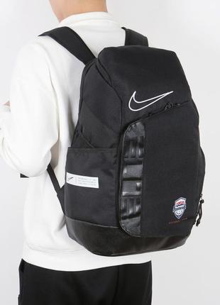 Рюкзак nike elite pro black черный женский / мужской
