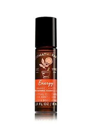 Концентрированные роликовые духи парфюм для тела aromatherapy energy bath and body works