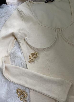 Платье с корсетным верхом2 фото