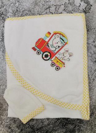 Детское полотенце уголок для девочки и мальчика дитячий рушничок для дівчинки