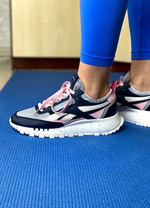Шикарные женские кроссовки топ качество reebok 🌍
