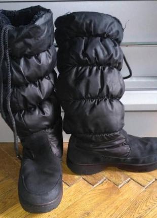 Дутіки skechers. розмір 36 на худеньку ногу
