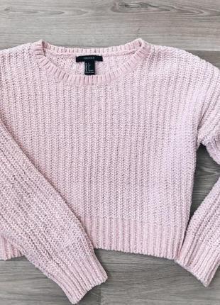 Плюшевая кофта /свитер forever21