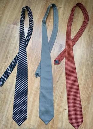 Gianfranco ferre лот из трёх фирменных галстуков