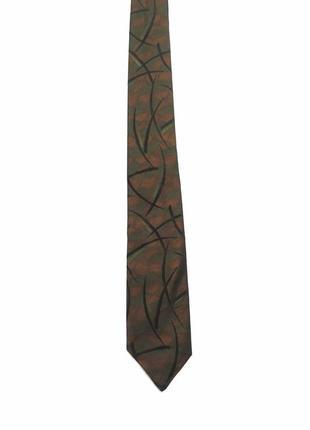 Винтажный дизайнерский шелковый  галстук christian dior шёлк франция винтаж