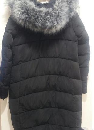 Куртка длинная теплая3 фото