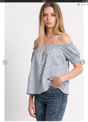 Новая блузочка открытые плечи
