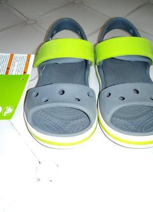 Детские сандали bayaband от crocs. размер с9 (eur р.25-26)
