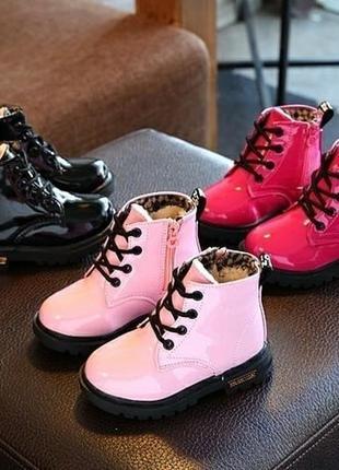 Хит продаж!лаковые ботинки!