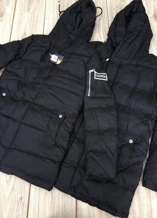 Пуховик h&m тёплый стильный актуальный зимний куртка zara asos пальто