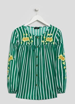Блуза с вышивкой papaya (р.l)