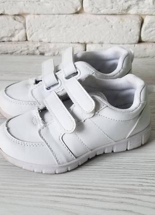 Tex испания белоснежные кроссовки