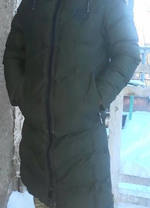 Супер теплый, стильный мужской пуховик