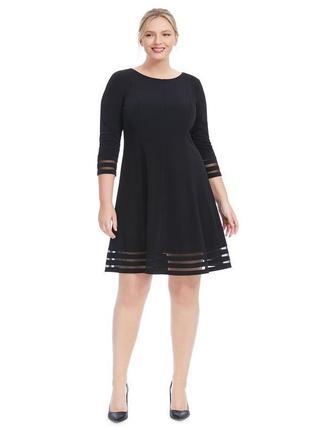 Фирменное платье с прозрачными вставками, новое из сша