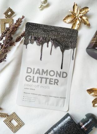 Adwin маска-пленка черная diamond glitter
