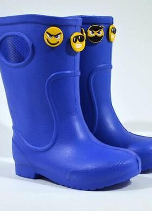 Гумові чоботи jose amorales  smile, синій