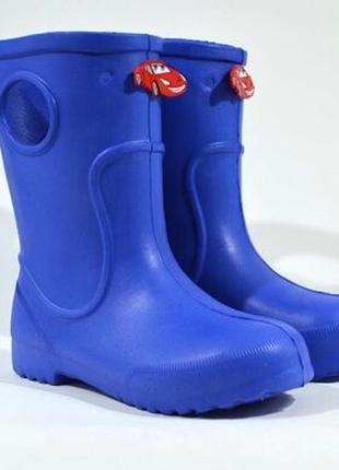 Гумові чоботи jose amorales  mcqueen, синій
