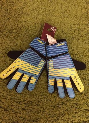 Детские вратарские перчатки р 6