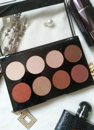 Палетка теней huda beauty beauty love in eyeshadow