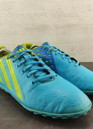 Сороконожки adidas freefootball x-ite. размер 44.5